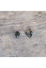 New Cast Iron Mini Hook - Black