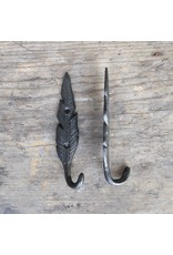 New Cast Iron Feather Hook