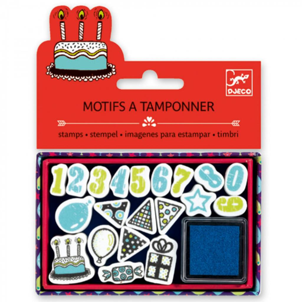 Djeco Djeco 09789 - Stamps - Birthday