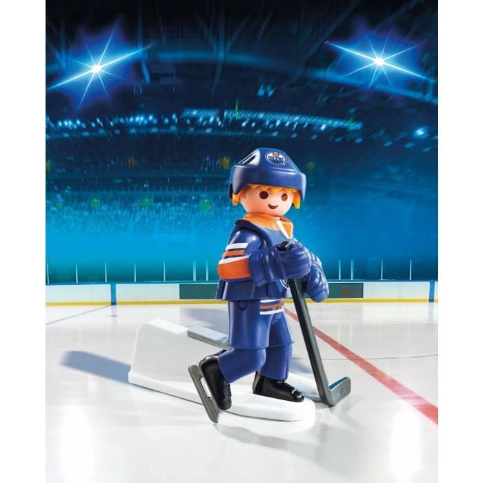 Playmobil Playmobil 9023 Joueur des Oilers d'Edmonton LNH