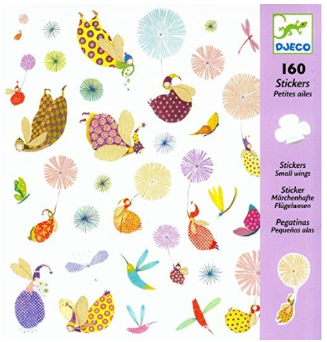Djeco 08832 - 160 Small Wings Stickers
