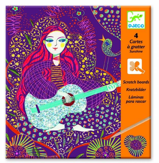 Djeco Djeco 09724 - Sunshine - Cartes a gratter