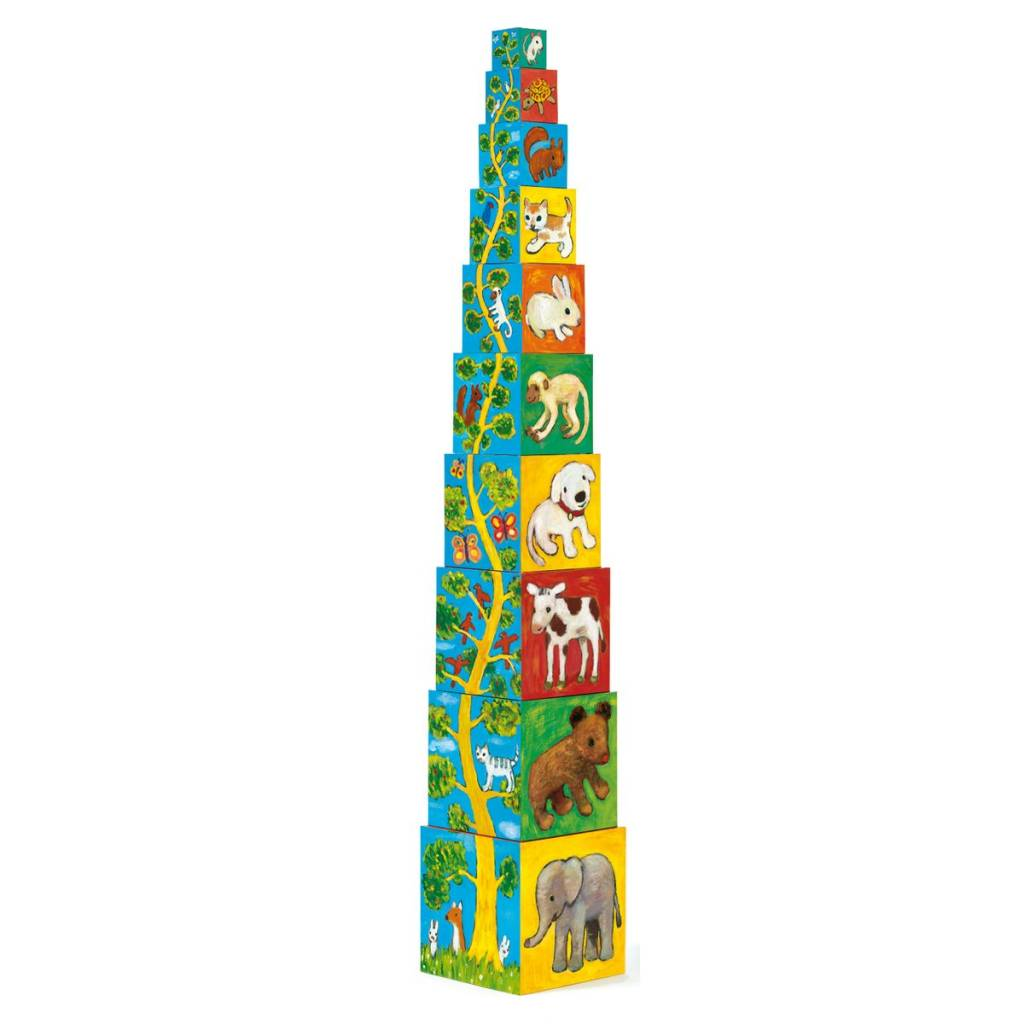 Djeco Djeco 08506 My Friends Stacking Toy