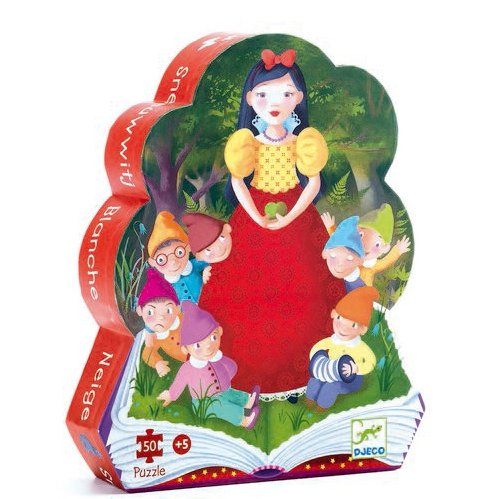 Djeco Djeco DJ07259 - Snow white - 24 pieces children's shaped jigsaw puzzle