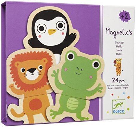 Djeco Djeco 03118 Puzzle Magnetic's coucou
