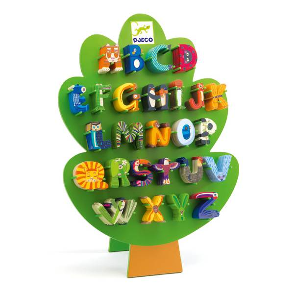 Djeco Djeco 04854 DECORATIVE ANIMAL LETTERS - O