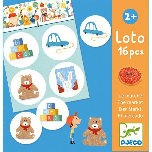 Djeco Djeco DJ08125 Loto le marché