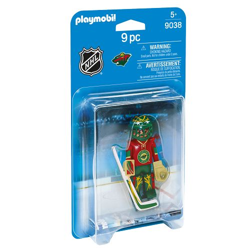 Playmobil Playmobil 9038 Gardien de but du Wild de Minnesota LNH