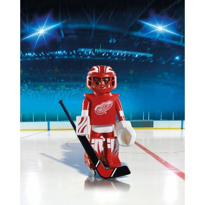 Playmobil Playmobil 5076 NHL Detroit Red Wings Goalie