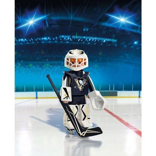 Playmobil Playmobil 9028 NHL Pittsburgh Penguins Goalie