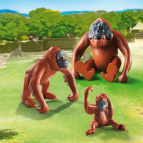Playmobil Playmobil 6648 Famille de orangs-outangs