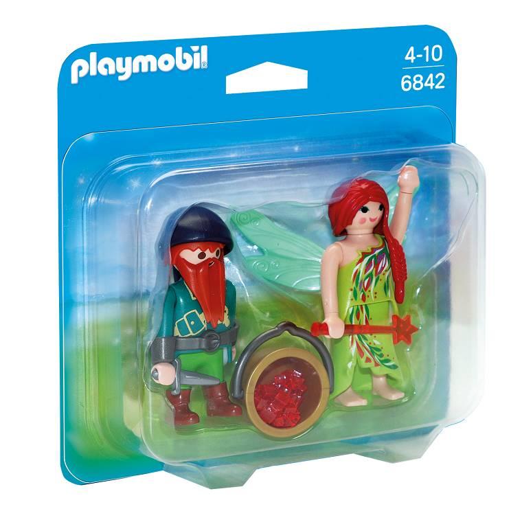 Playmobil Playmobil 6842 Fée et Nain de la Forêt