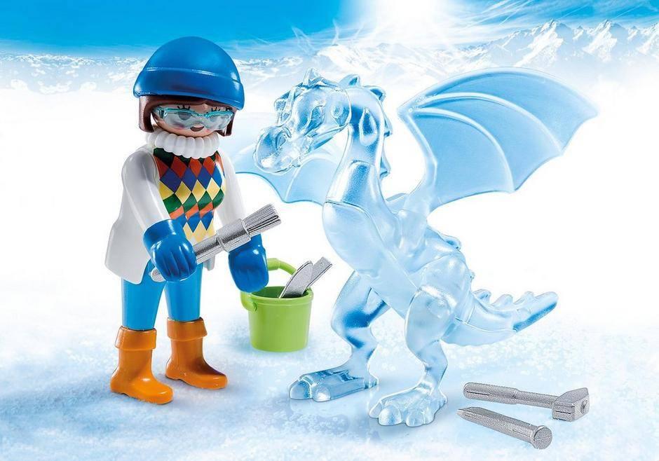 Playmobil Playmobil 5374 Artiste avec Sculpture de Glace