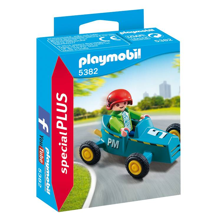 Playmobil Playmobil 5382 Boy with Go-Kart