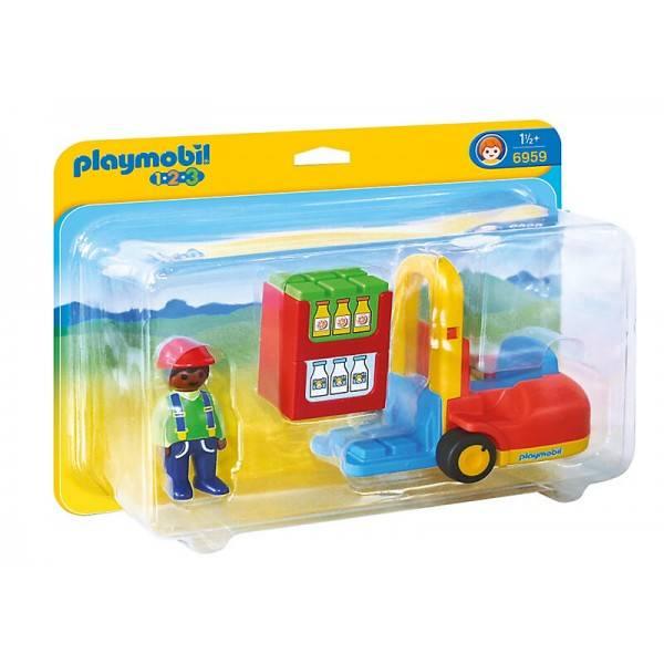 Playmobil Playmobil 6959 Chariot Élévateur