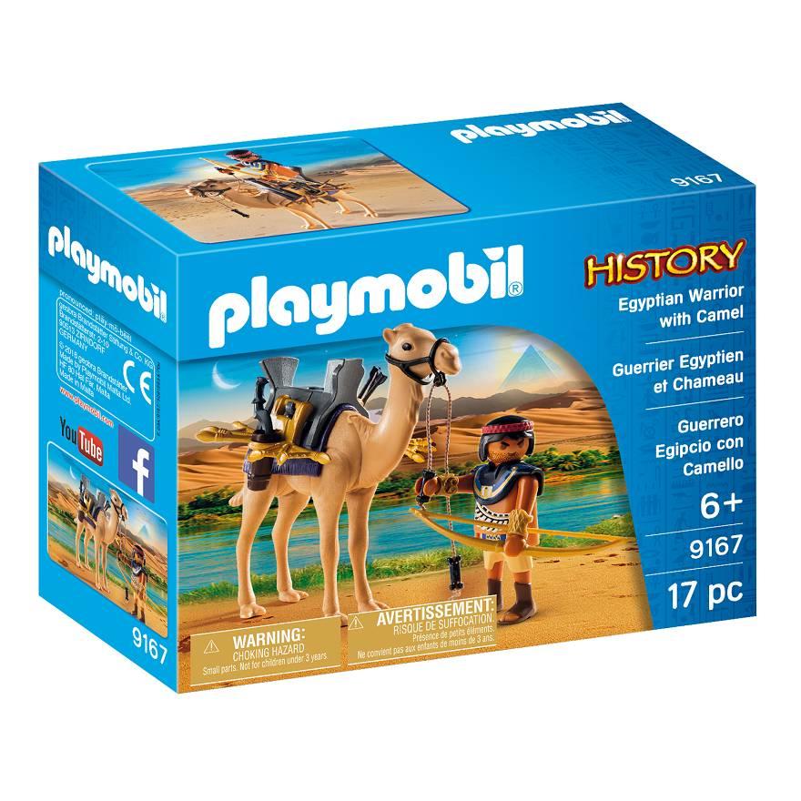 Playmobil Playmobil 9167 Guerrier Egyptien et Chameau