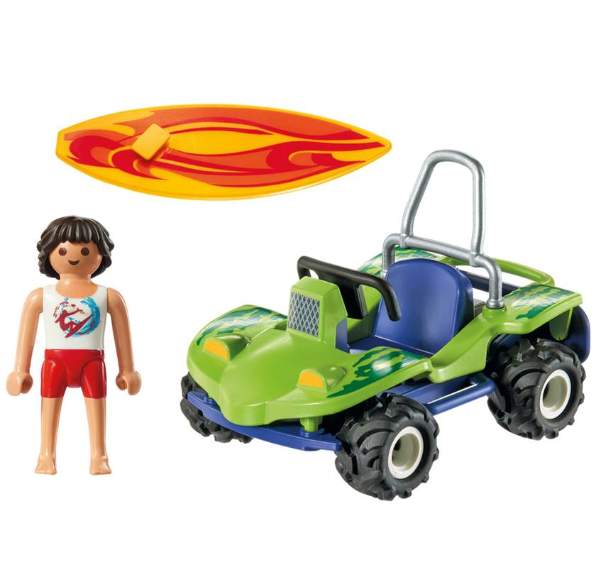 Playmobil Playmobil 6982 Surfer with Beach Quad