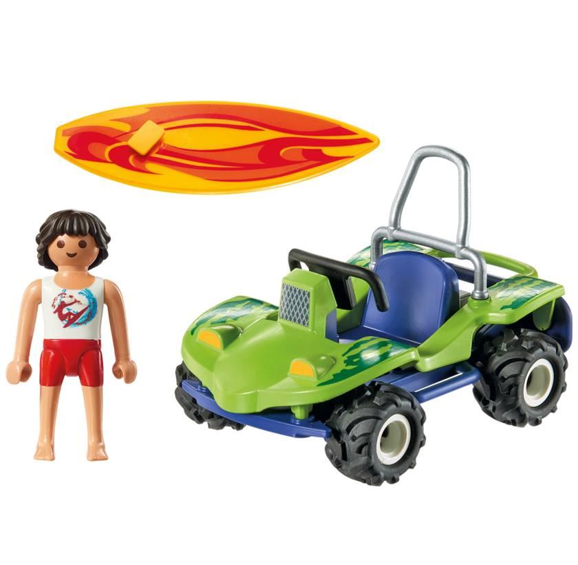 Playmobil Playmobil 6982 Surfeur et Buggy