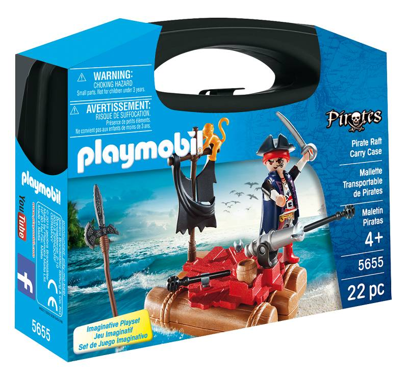 Playmobil Playmobil 5655 Pirate Raft Carry Case