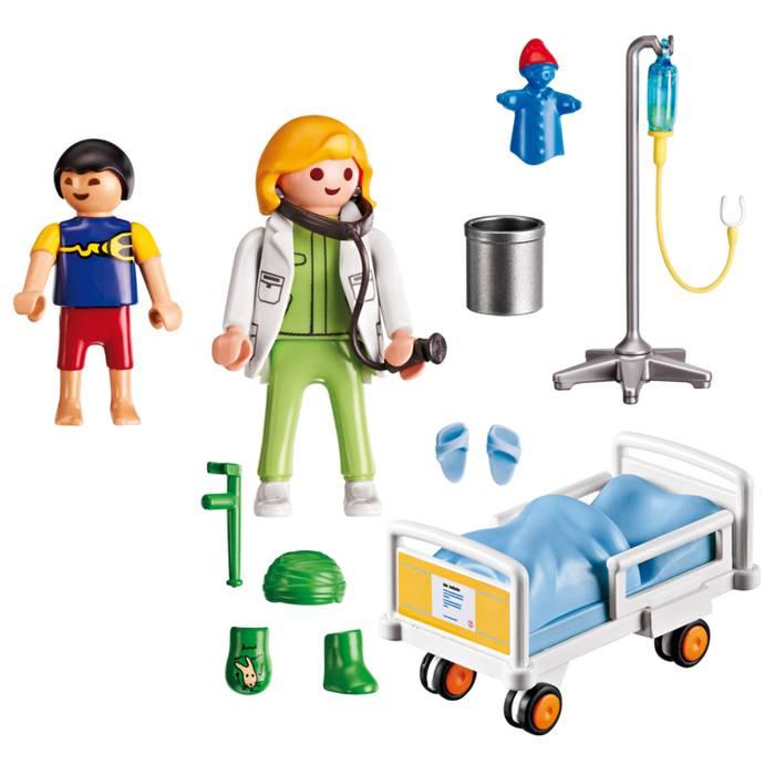 Playmobil Playmobil 6661 Médecin et Enfant