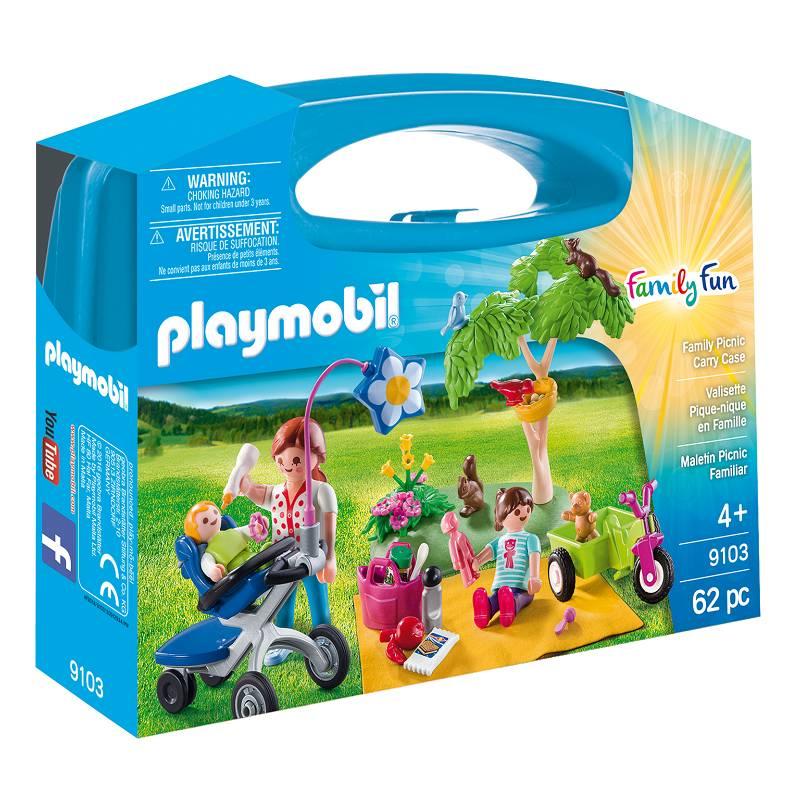 Playmobil Playmobil 9103 Family Picnic Carry Case