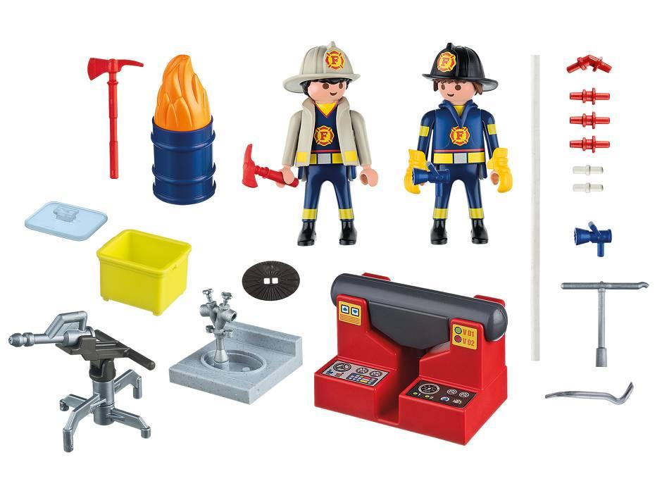 Playmobil Playmobil 5651 Mallette de Pompiers
