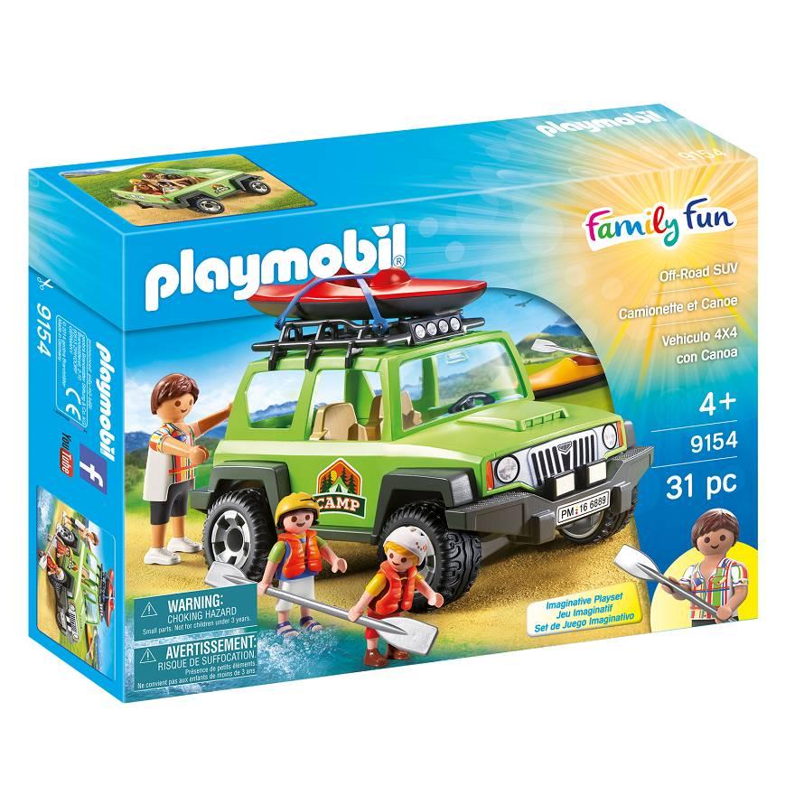 Playmobil Playmobil 9154 Camionnette et Canoe