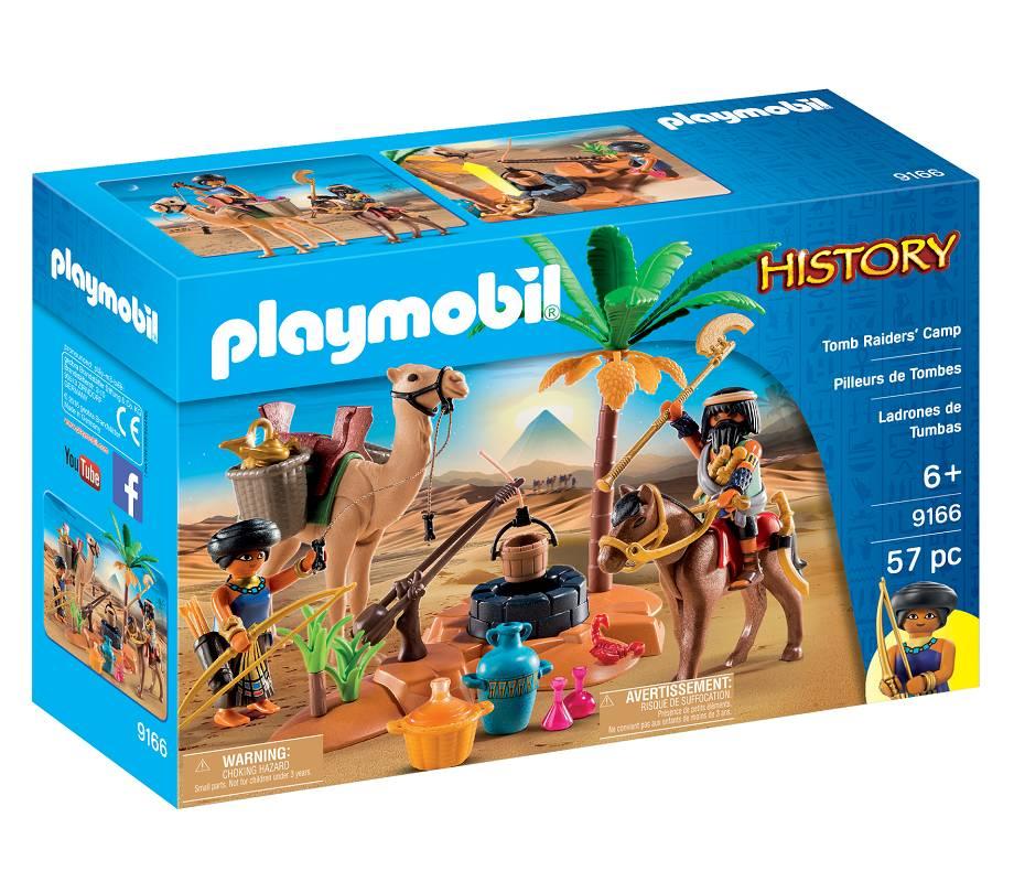 Playmobil Playmobil 9166 Tomb Raiders Camp