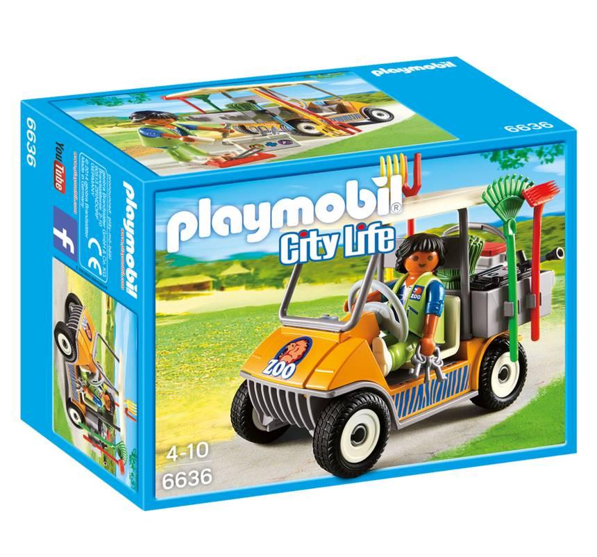 Playmobil Playmobil 6636 Zookeeper's Cart