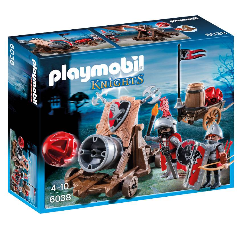 Playmobil Playmobil 6038 Hawk Knights Battle Cannon