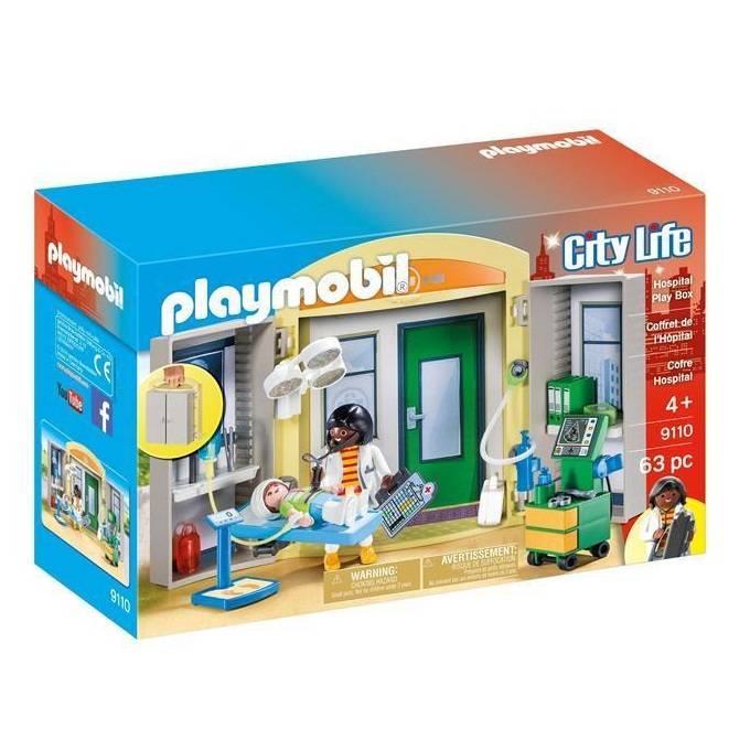 Playmobil Playmobil 9110 Hospital Play Box