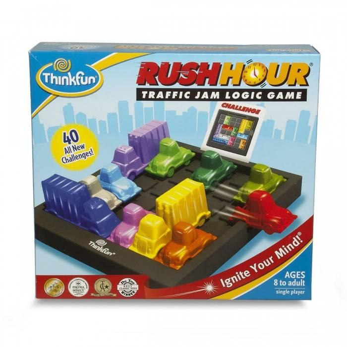 Think Fun Rush Hour Logic Game - Thinkfun