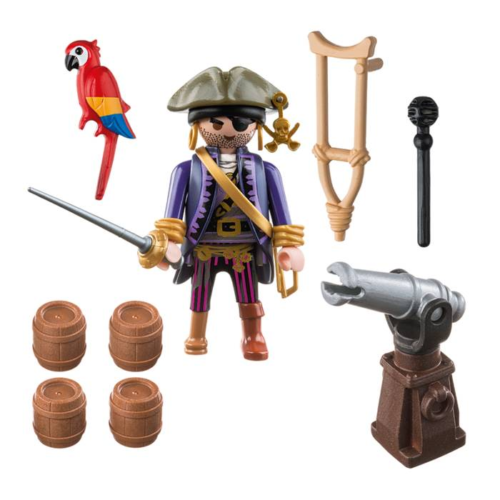 Playmobil Playmobil 6684 Capitaine Pirate avec Canon