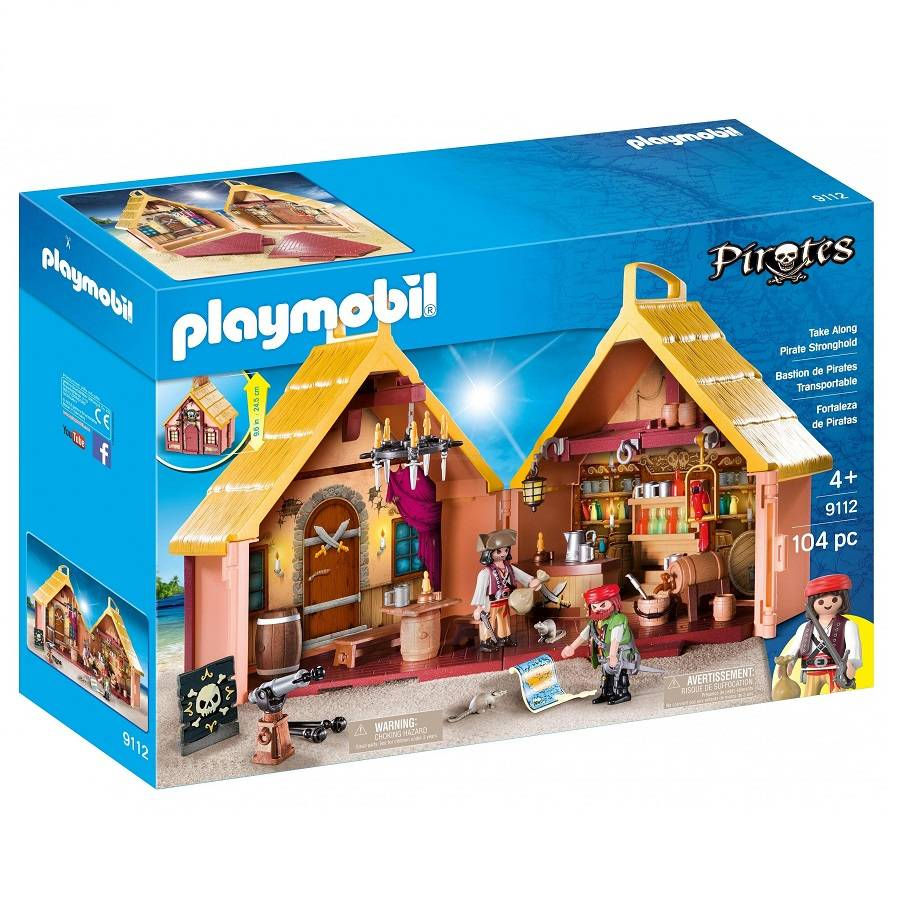 Playmobil Playmobil 9112 Take Along Pirate Stronghold