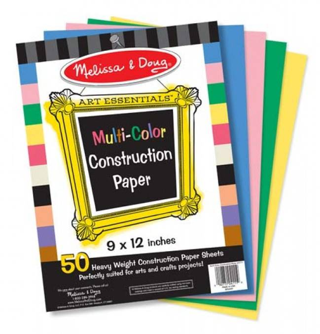 Melissa and Doug Melissa & Doug MULTI-COLOR CONSTRUCTION PAPER