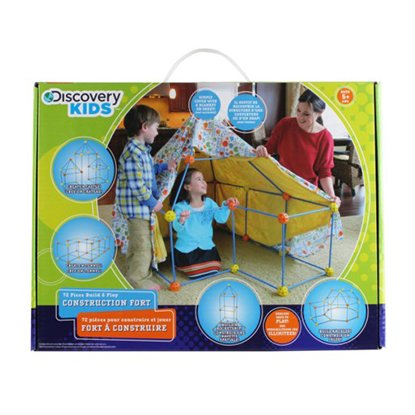 Discovery - Fort a construire 72pcs