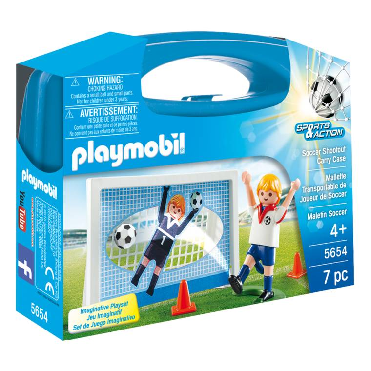Playmobil Playmobil 5654 Soccer Shootout Carry Case