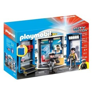 Playmobil Playmobil 9111 Police Station Play Box