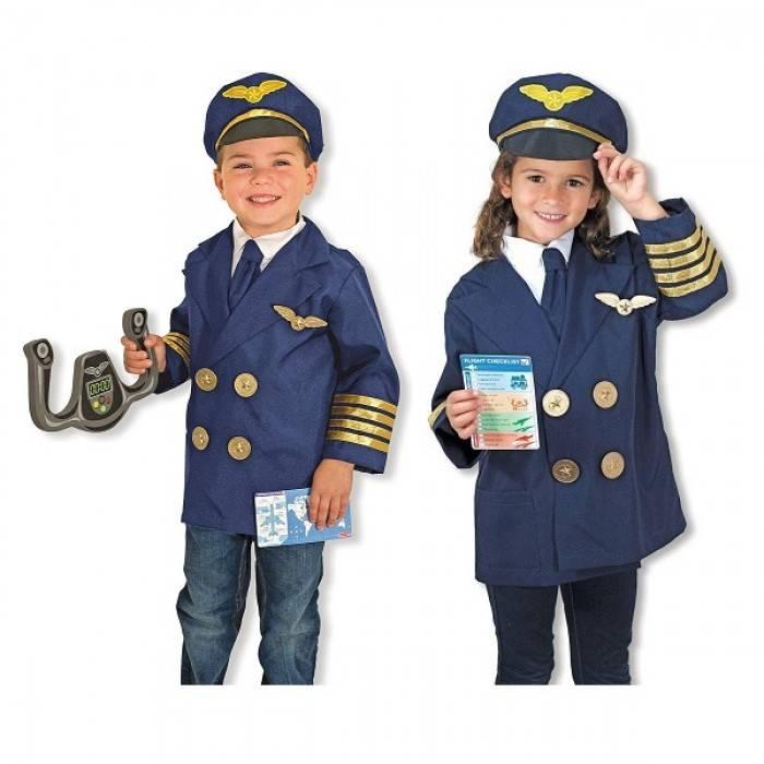 Melissa and Doug Melissa & Doug - PILOT ROLE PLAY COSTUME SET