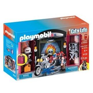 Playmobil Playmobil 9108 Coffret de l'atelier du Motard