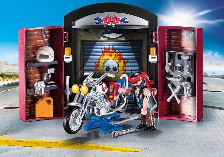 Playmobil Playmobil 9108 Bike Shop Play Box