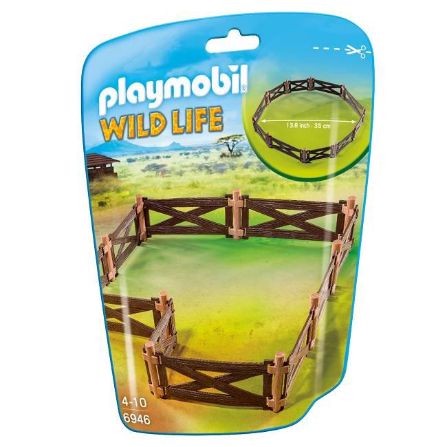 Playmobil Playmobil 6946 Enclos pour Animaux Sauvages