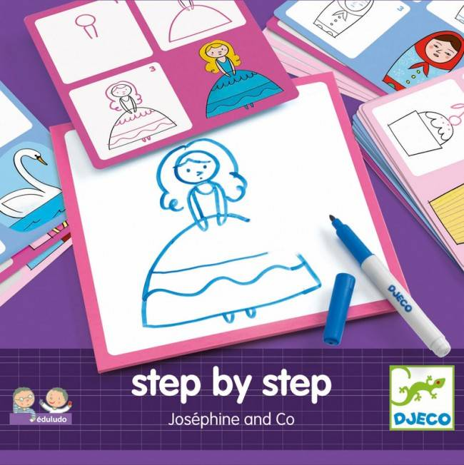 Djeco Djeco 08320 - Edulodo Pas-a-pas - Josephine