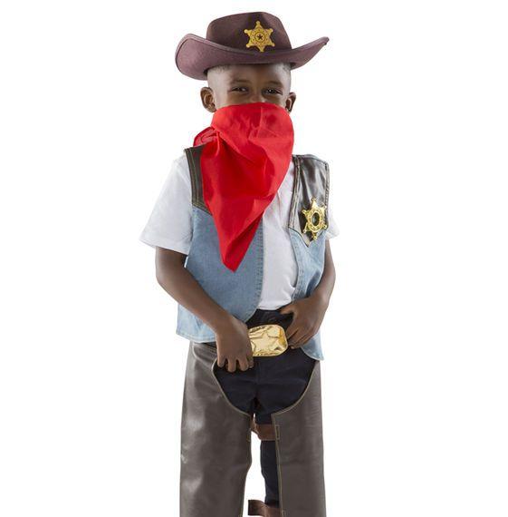 Melissa and Doug Melissa & Doug - Cowboy Role Play Costume