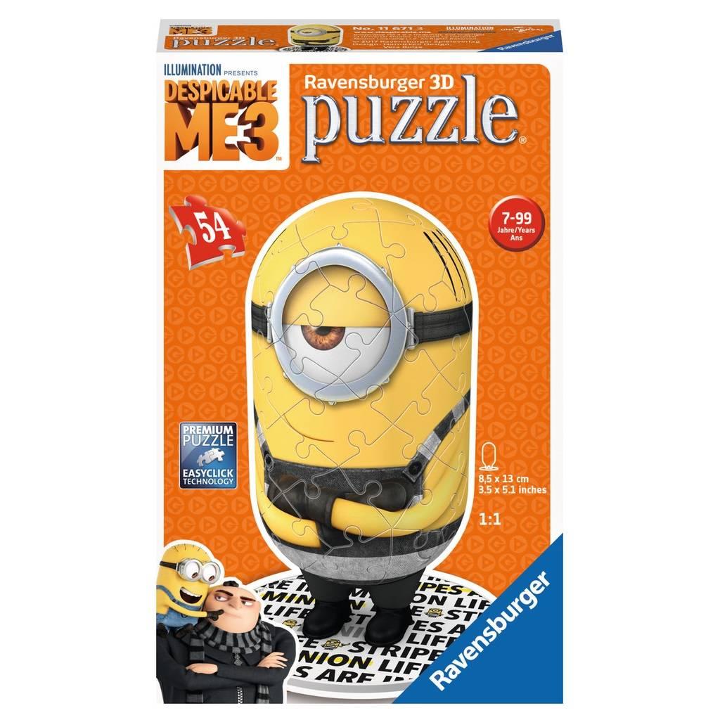 Ravensburger Ravensburger 11671 Despicable Me 3 3D Puzzle 54 pcs