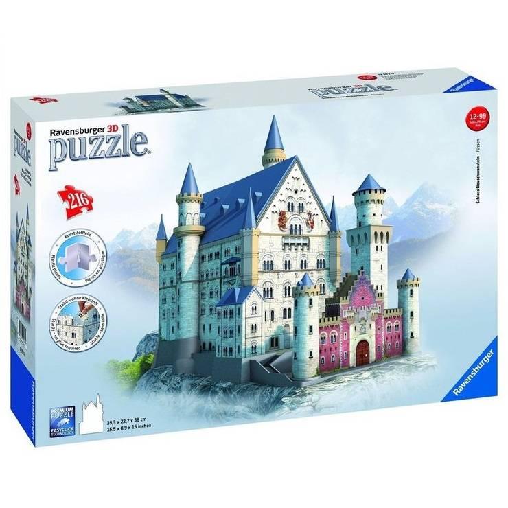 Ravensburger Ravensburger 12573 Puzzle 3D Château Neuschwanstein 216 pcs