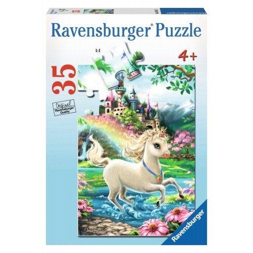 Ravensburger Ravensburger 08765 Unicorn Castle Puzzle 35 pcs