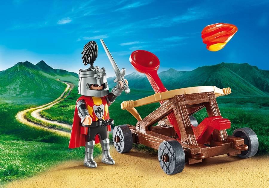 Playmobil Playmobil 9106 Knight's Calapult Carry Case