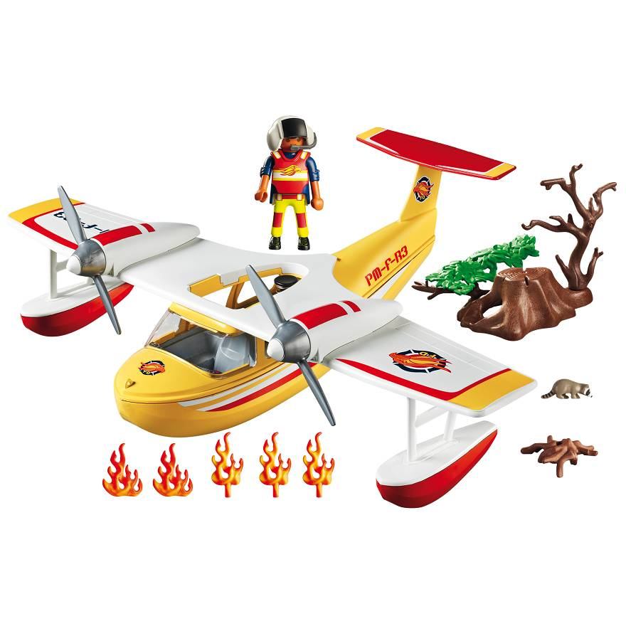 Playmobil Playmobil 5560 Firefighting Seaplane