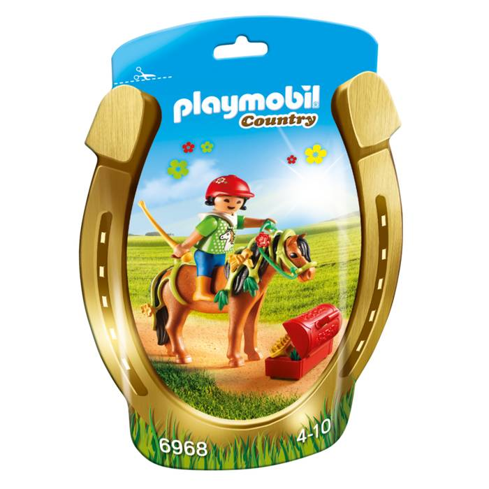 Playmobil Playmobil 6968 Groomer with Bloom Pony